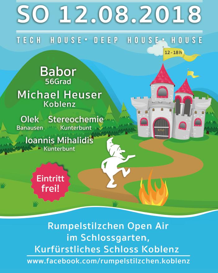 KOBLENZER SOMMERFEST (im Rahmen von Rhein in Flammen) – Rumpelstilzchen